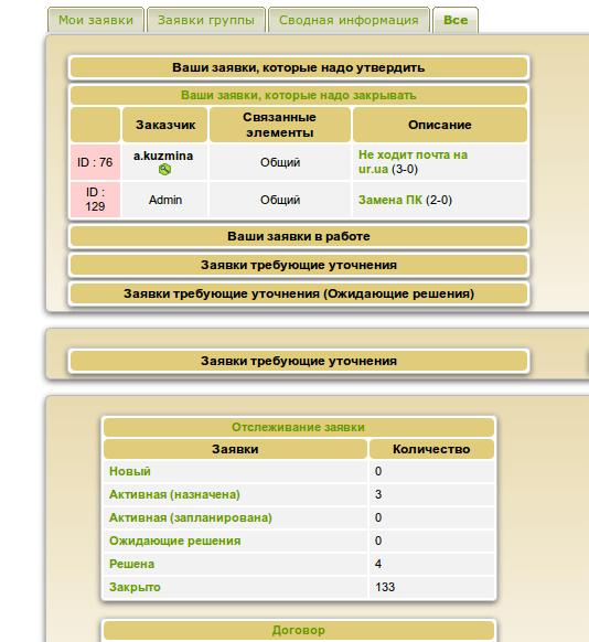 GLPI тикет система