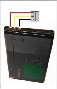 батарея Nokia BL-4C